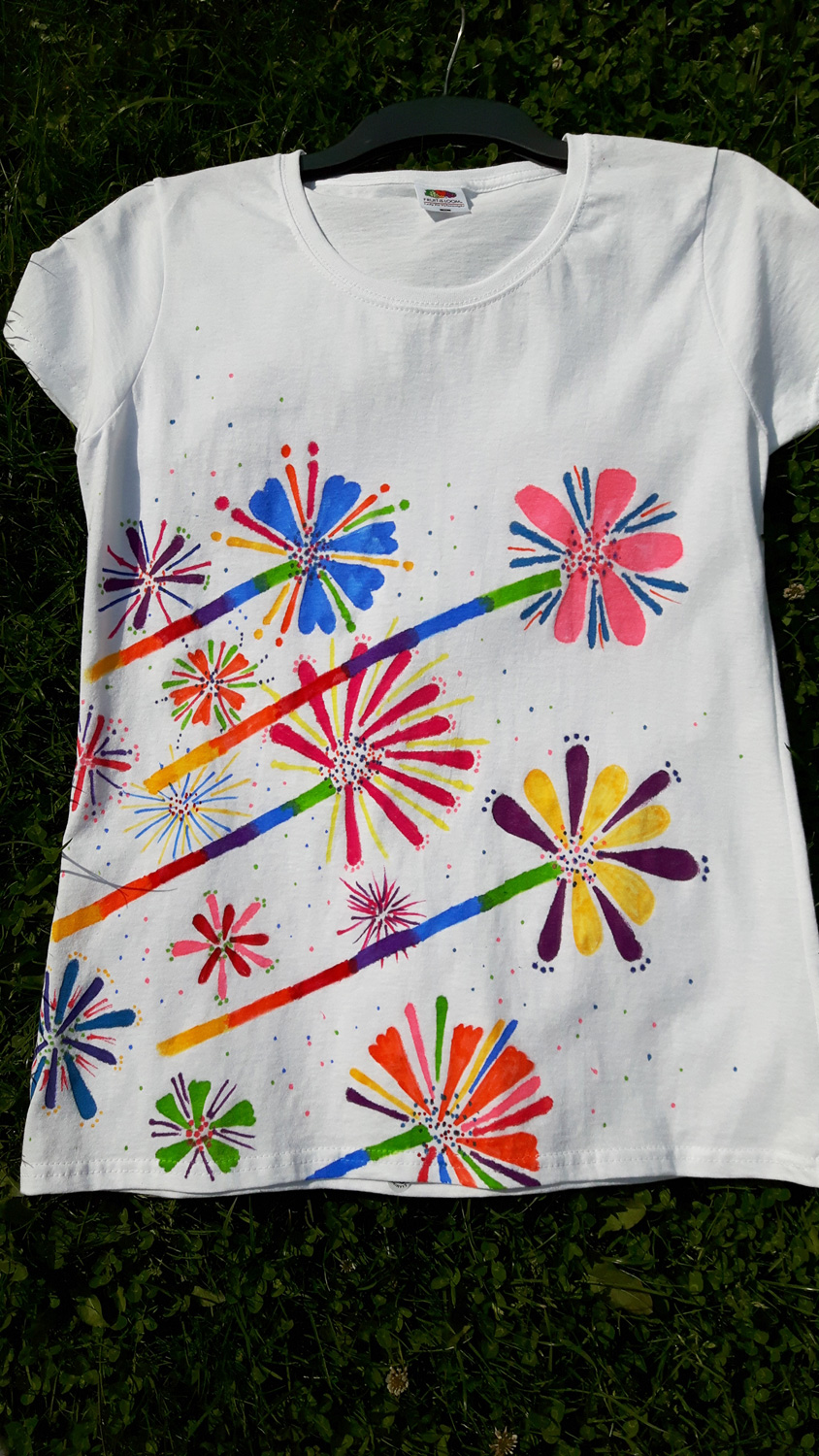 Pride Flower T-Shirt, Sheffield Pride 2017